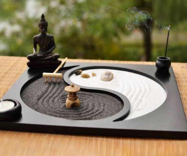 Miniature Desktop Zen Garden Awesomage